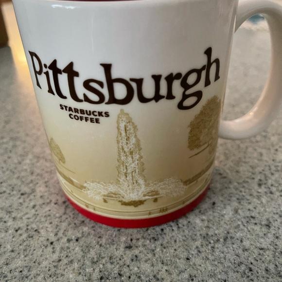 Starbucks collector city mug of Pittsburg
